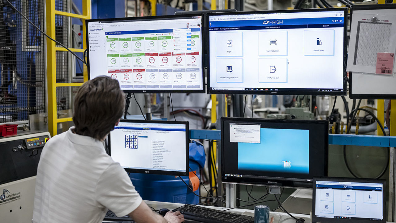Smart Attend shop floor customized system monitoring